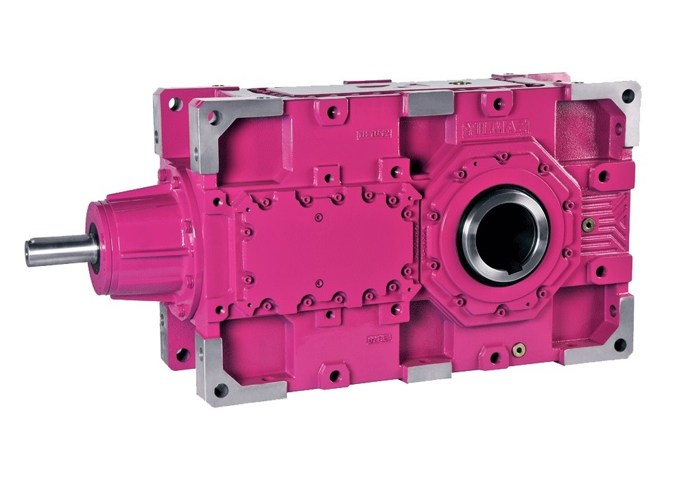 B Series - Heavy Duty Gearboxes With Bevel Stage Input